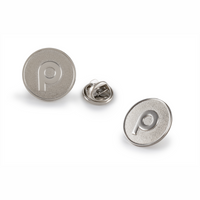 Brandmark Nickel Plated Lapel Pin