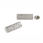 Publix Logotype Nickel Plated Lapel Pin