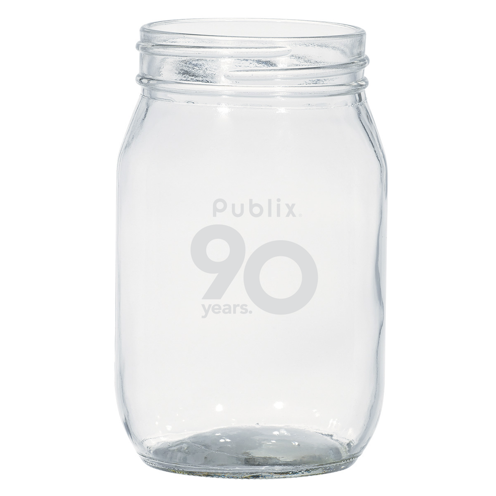 90th Anniversary Mason Jar