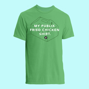 My Fried Chicken Lightweight Ringspun T-Shirt: Green