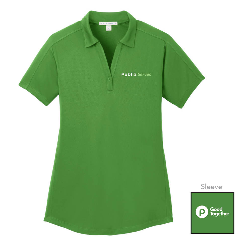 Publix Serves Vine Green Women's Polo
