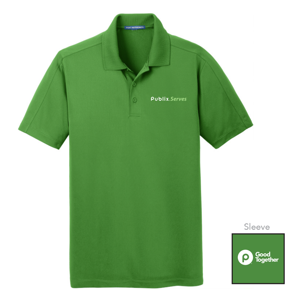 Publix Serves Vine Green Men's Polo