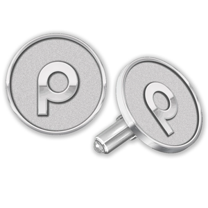 Sterling Silver Brandmark Cuff Links