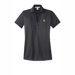 Port Authority Ladies Performance Fine Jacquard Polo - Grey Smoke