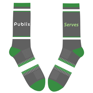 Publix Serves Crew Athletic Socks