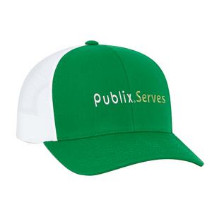 Publix Serves Trucker Cap - Green