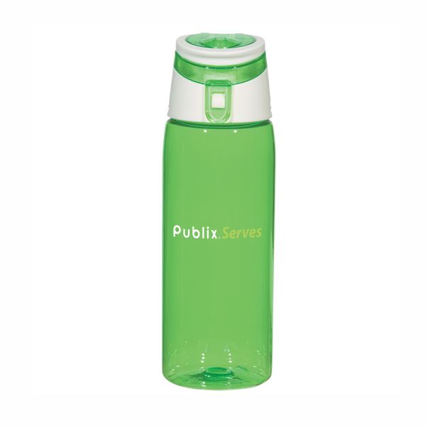Publix Serves 24 ounce Tritan Flip Top Sports Bottle