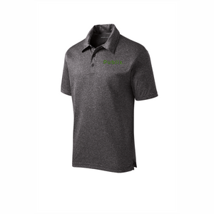 Sport-Tek® Heather Contender™ Polo - Graphite Heather