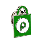 Grocery Bag Lapel Pin