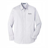 Men's Port Authority Micro Tattersall Easy Care Shirt - BARM approved