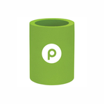 Clearance Original Can Koozie – lime with Publix brandmark