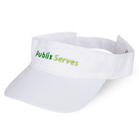 """Publix Serves"" Cotton Visor"