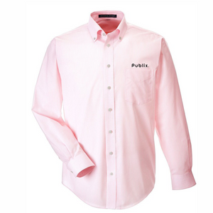 Devon & Jones Men's Crown Woven Collection™ Banker Stripe - PINK