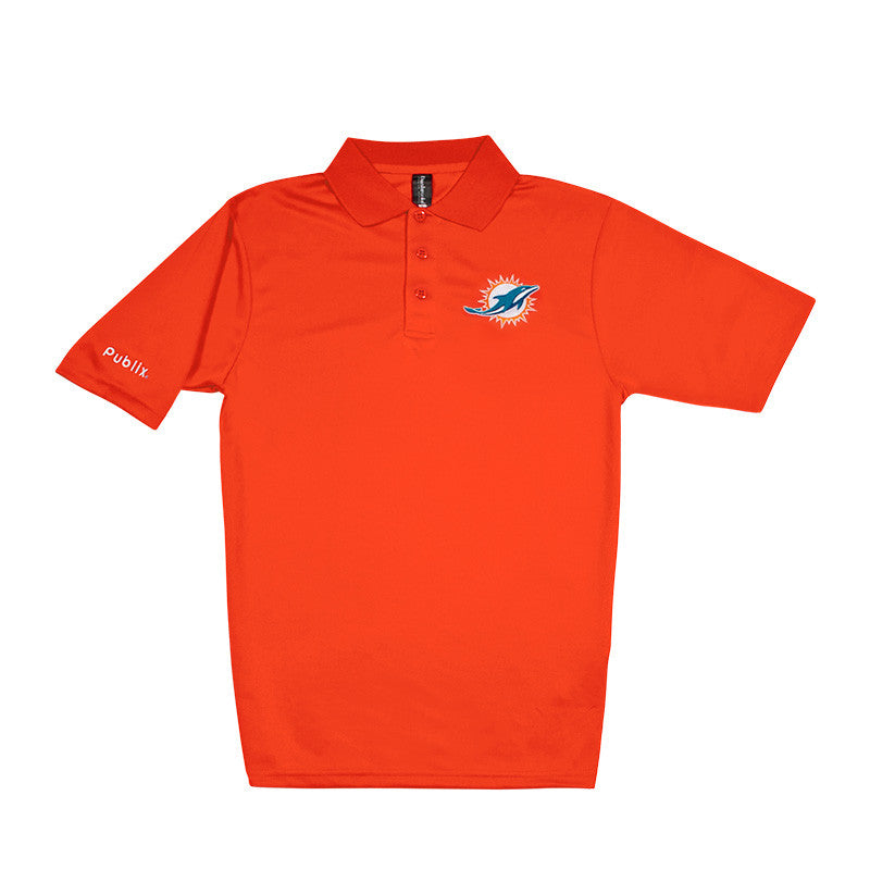 CLEARANCE Men's NFL Team Polo - Dolphins