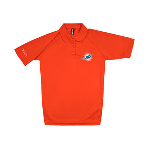 CLEARANCE Women's NFL Team Polo - Dolphins