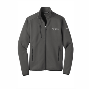 Eddie Bauer ® Men's Dash Full-Zip Fleece Jacket - Grey Steel
