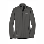 Eddie Bauer ® Ladies Dash Full-Zip Fleece Jacket - Grey Steel