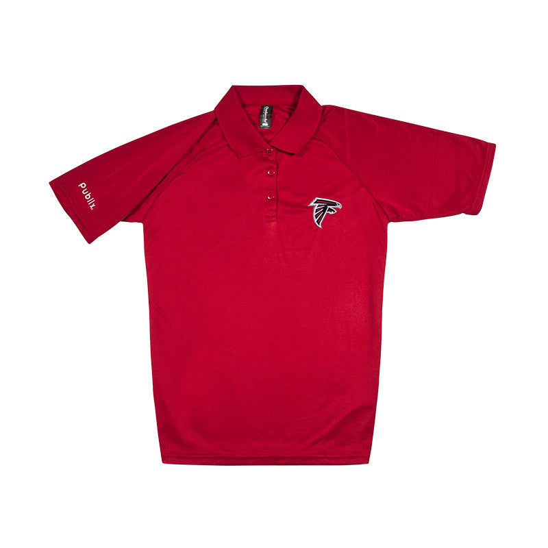 CLEARANCE Women's NFL Team Polo - Falcons