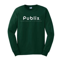 Where Working is a Pleasure Long Sleeve T-Shirt - Green