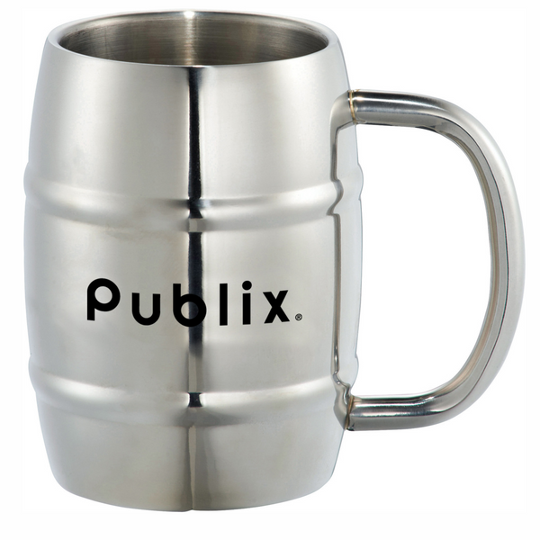 Growl Stainless Barrel Mug - 14oz
