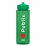 32 ounce HydroClean Sports Bottle  I Heart Publix - Push/Pull lid