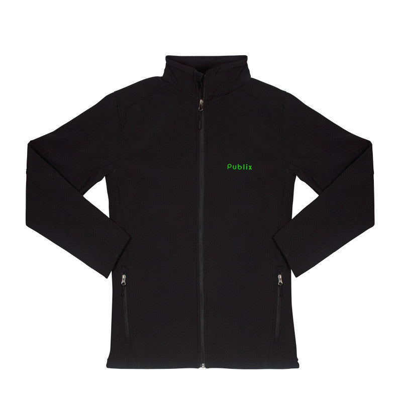 Men's Black Core Soft Shell Jacket by Port Authority