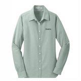 Women's Port Authority SuperPro Oxford Green Shirt - BARM approved