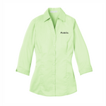 Port Authority Ladies 3/4 sleeve - Light Green