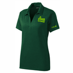 Clearance -UW2019  LADIES Heather Green Polo