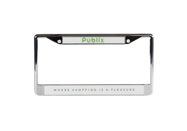 Mirrored License Plate Frame