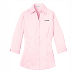 Port Authority Ladies 3/4 sleeve - Light Pink - SPECIAL BUY/Limited Inventory