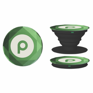 Diamond Aluminum PopSockets Grip - Green