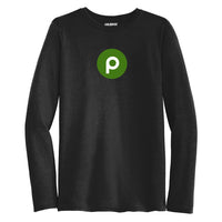 Publix Brand Mark Long Sleeve T-Shirt - Mens - Black