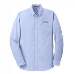 Men's Port Authority TALL SuperPro Oxford Blue Shirt - BARM approved