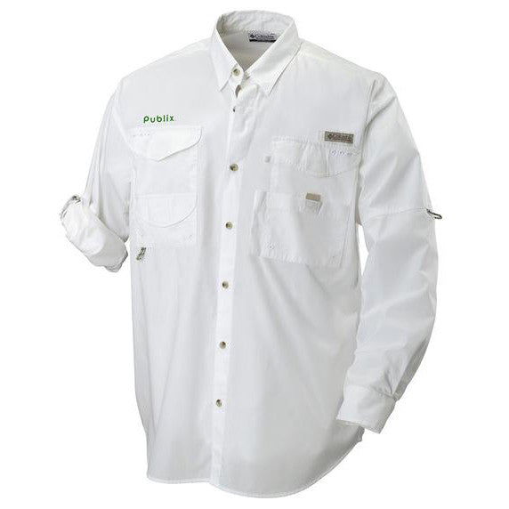 Clearance - Bonehead Long Sleeve Columbia Fishing Shirt 7120