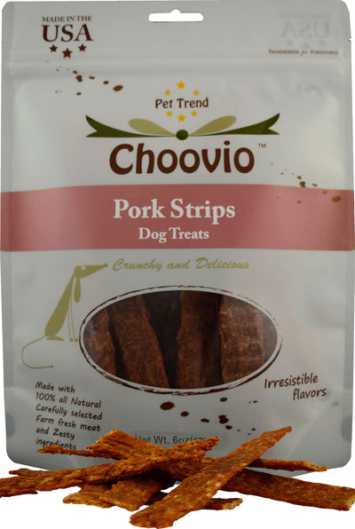 Choovio Pork Strips 6oz