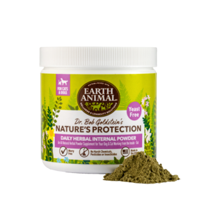 Earth Animal Nature's Protection Daily Herbal Internal Powder 8oz (NO YEAST)
