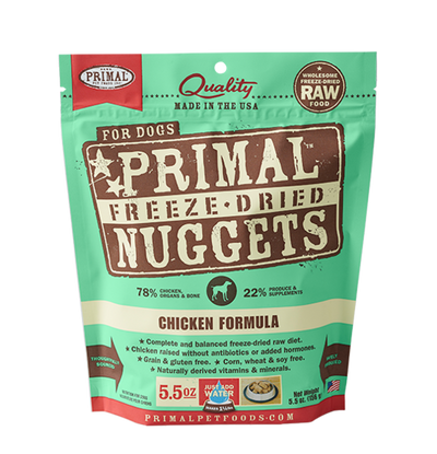 Primal Canine Freeze Dried Chicken