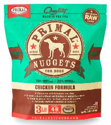 Primal Canine Frozen Raw Chicken