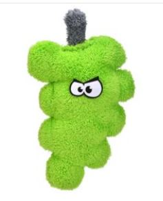 Cycle Dog Duraplush Grapes Dog Toy