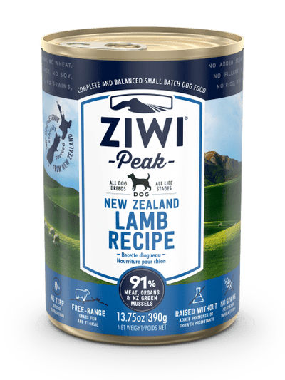 Ziwi Peak Lamb Canned Dog Food 13.75oz