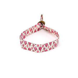 Pink Hot Air Balloons Bracelet The Groovez Alt