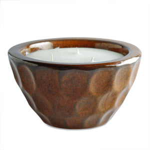 Northern Lights Candles Honeycomb Candle Bowls - Paprika