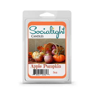 Socialight Candles - Apple Pumpkin Scented Wax Melts