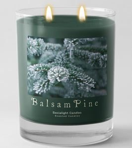 Socialight Candles - Balsam Pine 11 oz Container Candle