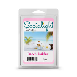 Socialight Candles - Beach Daisies Scented Wax Melts