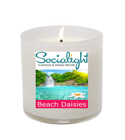 Beach Daisies 16 oz Soy Candle
