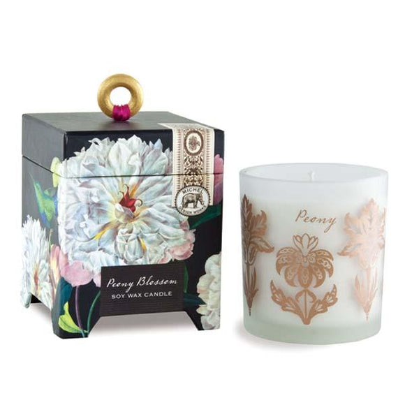 Michel Design Works Peony Blossom 6.5 oz. Soy Wax Candle