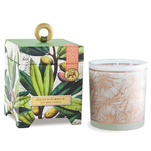 Michel Design Olive Grove 6.5 oz. Soy Wax Candle