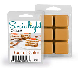Carrot Cake Scented Wax Cubes / Melts